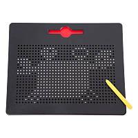 Большой Магнитный планшет для рисования шариками - Mag Pad с карточками, фото 1