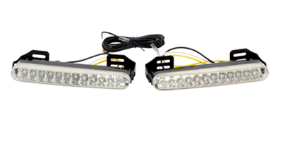Дневные ходовые огни дневного света DRL комплект (2 шт) 8 LED