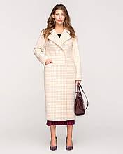 Женское пальто демисезонное 50 52 54р беж