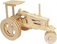 3D-пазл Игрушки из дерева Трактор (П078) (4607100581642)