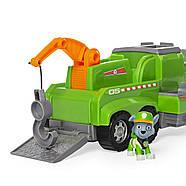 ОРИГІНАЛ! Paw Patrol Рятувальна Машина Роккі і 6 фігурок Rocky Total Rescue Team Recycling Truck, фото 3