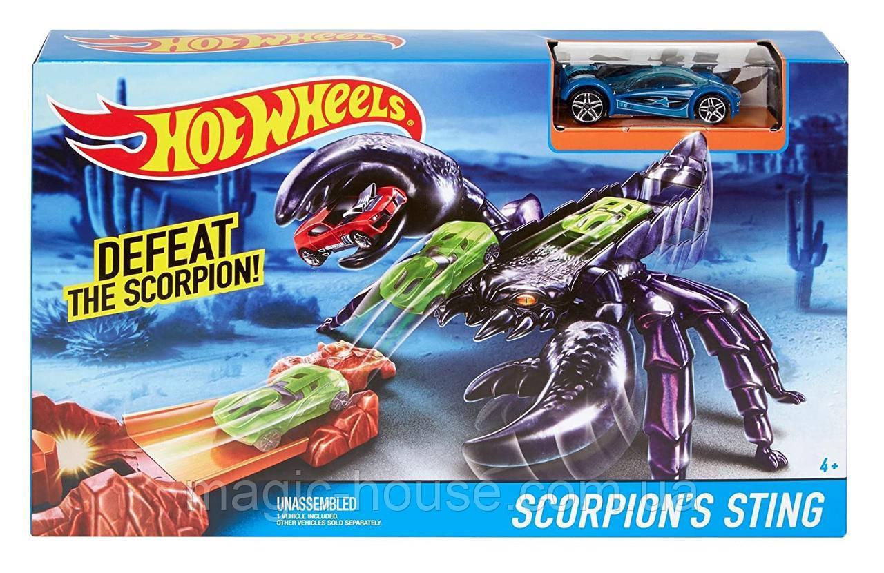 Hot WheelsЖало Скорпиона Scorpion's Sting  Оригинал от Mattel