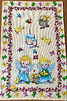 Пасхальне Великодній Рушник Серветка Бавовняний Великодній Рушник Tirotex 3 Шт В Упаковці Розмір 70 х 44 См