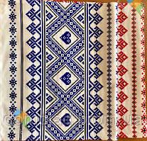 Рушник В Українському Стилі Бавовняний Рушник З Орнаментом Tirotex Червоний І Синій 6 Шт В Упаковці Розмір 71 х 42 См