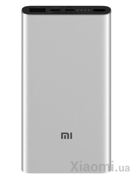 Универсальная батарея Xiaomi Mi Power bank 3 10000mAh Silver ORIGINAL (PLM12ZM)