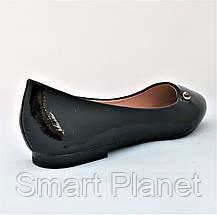 Женские Балетки Чёрные Мокасины Туфли (размеры: 36), фото 3