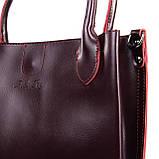Сумка Женская Классическая кожа ALEX RAI 09-3 8784 wine-red, фото 2