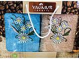 Набор кухонных полотенец Цветочки 30х70 (9987), фото 3