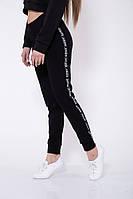 Спорт штаны женские 102R033 цвет Черный 1140750773