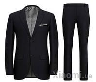 Костюм мужской Xiaomi Louise Man's Pure Wool Three-Action Suit Black XL size 180/90A