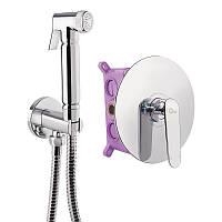 Набор для гигиенического душа со смесителем Q-tap Inspai-Varius CRM V10440101