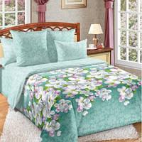 Комплект постельного белья Комфорт-текстиль перкаль Яблони в цвету