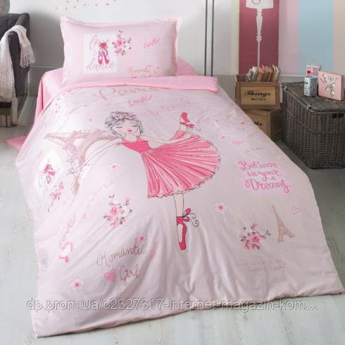 Подростковое постельное белье Aran Clasy Romantic Girl ранфорс