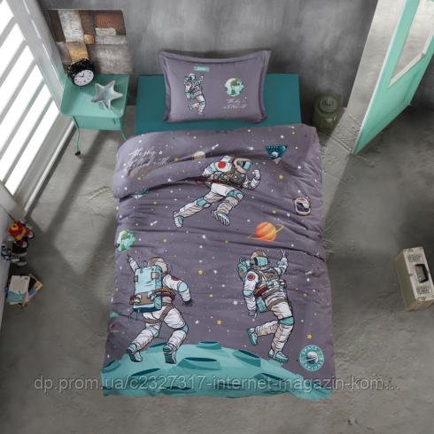 Подростковое постельное белье Aran Clasy Space ранфорс