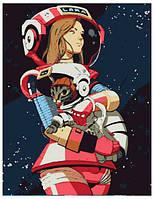 Набор для творчества Rosa Start акриловая живопись по номерам Космос и Лара (4823098507222)