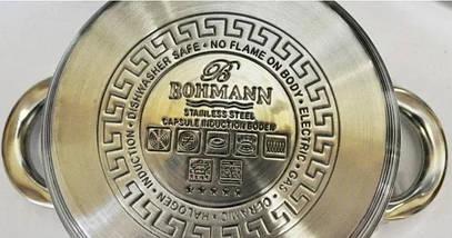 Набор кастрюль 6 предметов Bohmann BH-70718, фото 2