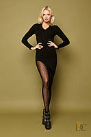 Модное вязанное платье - настоящая находка для модниц