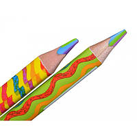 Карандаш цветной YES Rainbow Jumbo, 6 в 1 (6-цветный), поштучно, треугольный