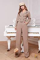 Модный комбинезон с брюками клеш