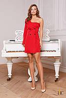 Cтильное модное платье с открытым плечом