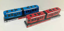 Трамвай 2 цвета, в слюде /120-2/