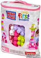 Конструктор Mega Bloks First Builders 60 дет Розовый (DCH54)
