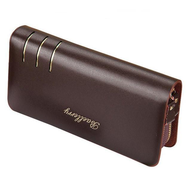 Мужской кошелек-клатч портмоне барсетка Baellerry S6111