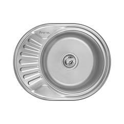 Кухонная мойка Imperial 5745 (0,6мм) Satin 160 mm
