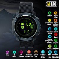 M-Tac часы тактические мультифункциональные черные