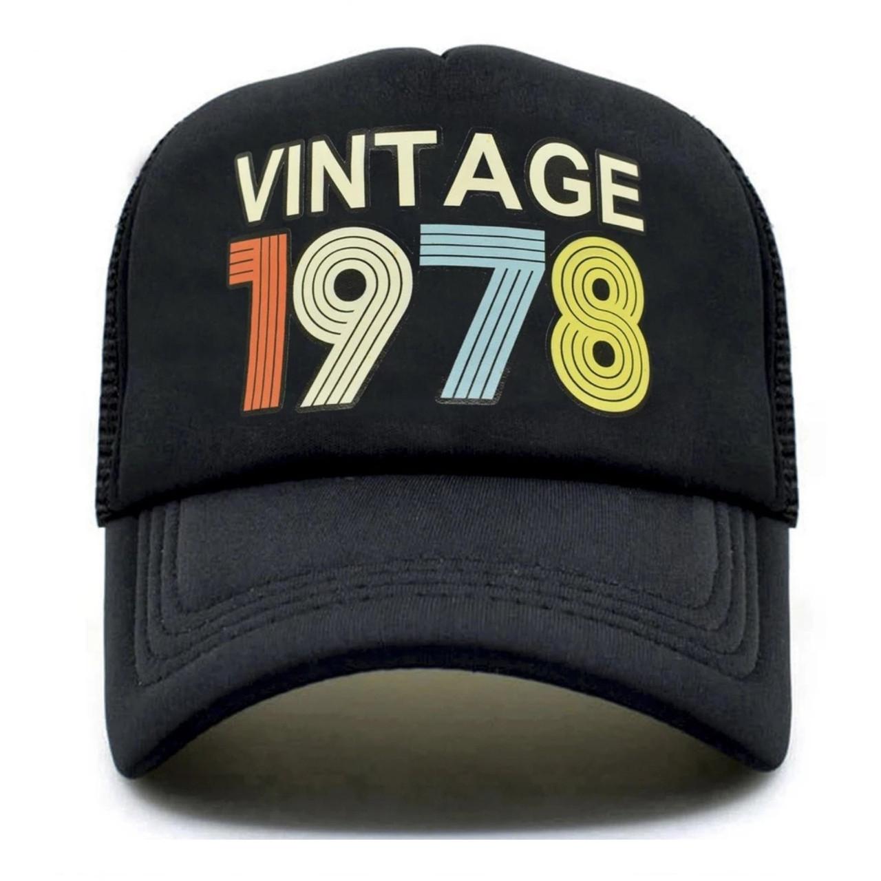 Кепка тракер Vintage 1978 с сеточкой 2, Унисекс