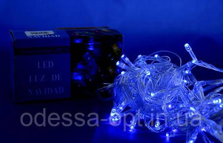 Xmas LED 100 B-1 Синяя (ПРОДАЕТСЯ ТОЛЬКО ЯЩИКОМ!!!), фото 2
