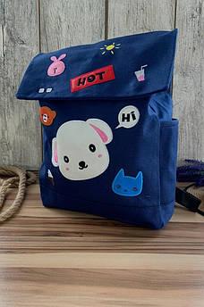 Рюкзак детский синий 33 x 28 x 7 AAA 116572S
