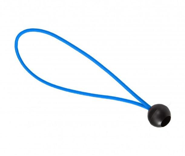 Резинка для фитнес батута Olympic Sport 18 см светло-синяя