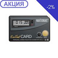 Дозиметр-радиометр индивидуальный Ecotest ДКГ-21 CARD (ЕСОTEST)