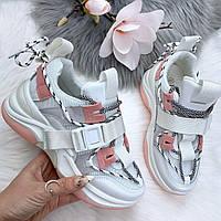 Кроссовки с ремнями