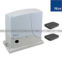 Комплект автоматики ROX600KLT Nice для откатных ворот (ширина до 6 м), фото 1