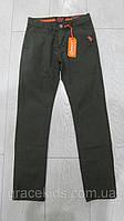 Дитячі котонові штани на хлопчиків GRACE,розм 116-146 см