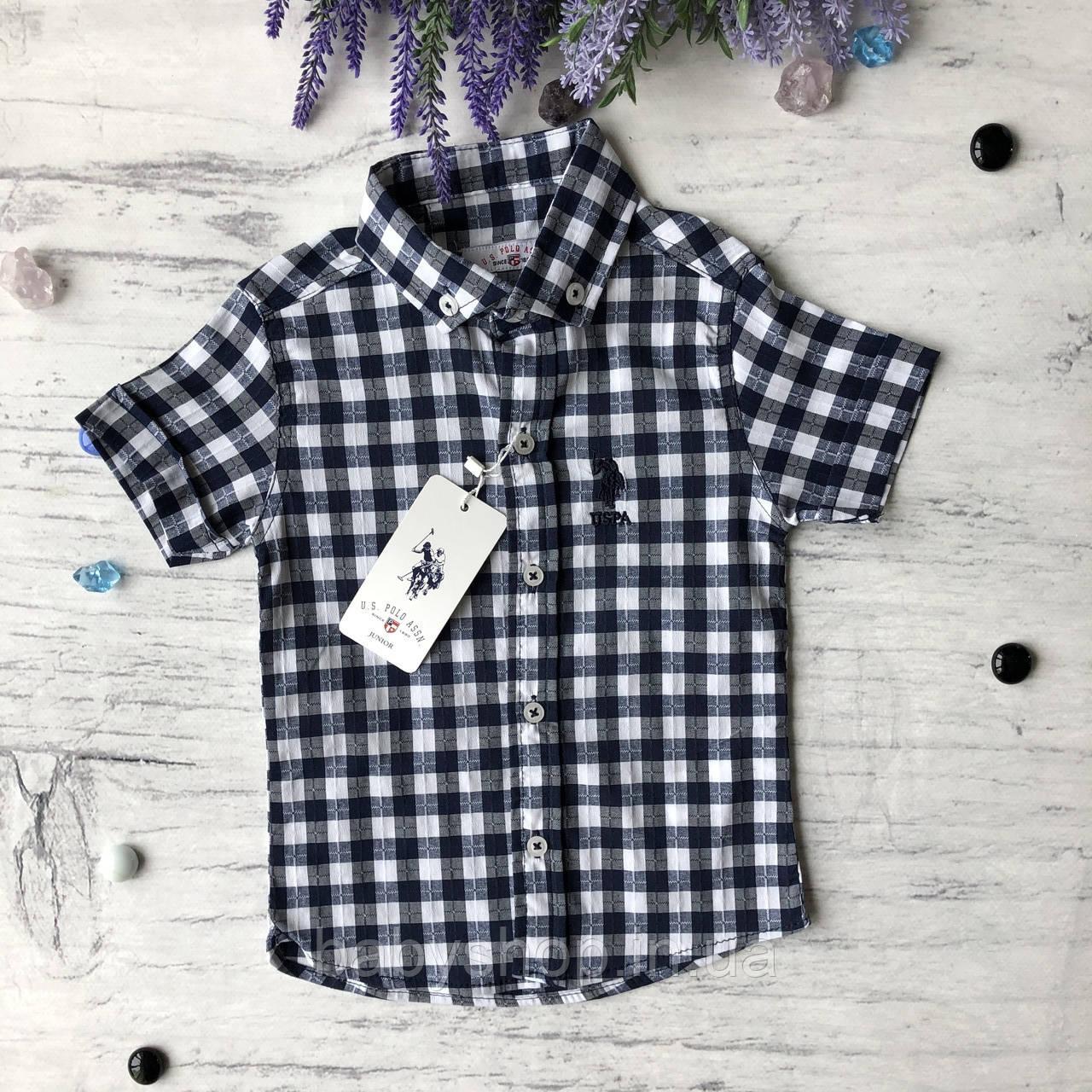 Летняя рубашка на мальчика 4. Размер 3 года, 4 года, 5 лет, 6 лет, 7 лет, 8 лет, 9 лет,11 лет, 12 лет