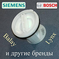 """Фильтр сливного насоса """"605011"""" для стиральной машины Bosch, Siemens, Balay и т.д."""