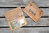 Счетницы из дерева. Расчетница, купюрница для кафе и ресторанов из дерева. (A00925), фото 1