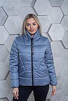 Демисезонная куртка К 00031 с 03 голубой, фото 1