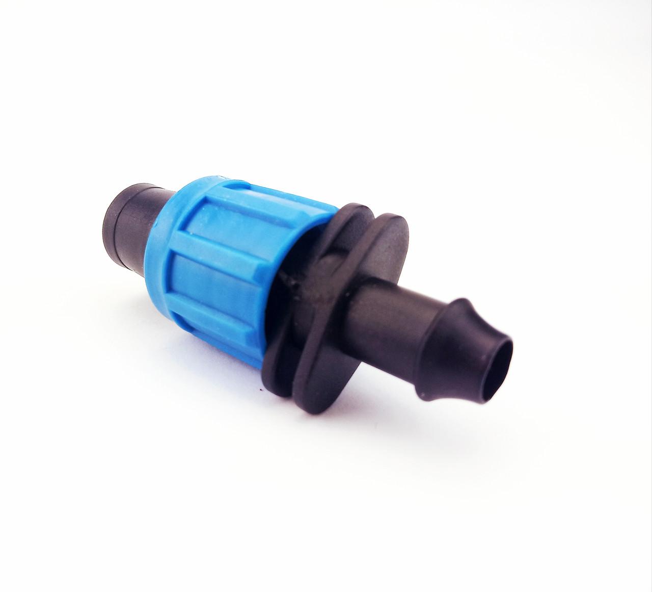 Стартер для капельной ленты с резинкой Santehplast