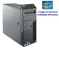 Системный блок, компьютер, Intel Core i7 860, 8 ядер до 3,46 Ghz, 0 Гб ОЗУ DDR-3, HDD 0 Гб