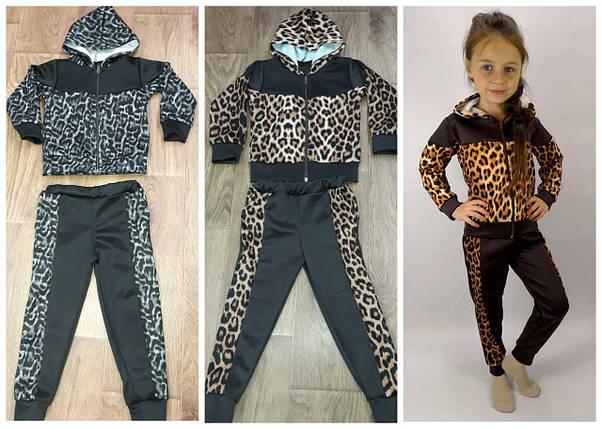 Костюм леопардовый с капюшоном, фото 2