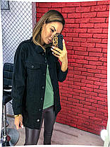 Куртка джинс в расцветках 04ат714, фото 3