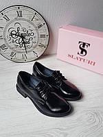 Туфли женские классические из натурального лака от Slaturi