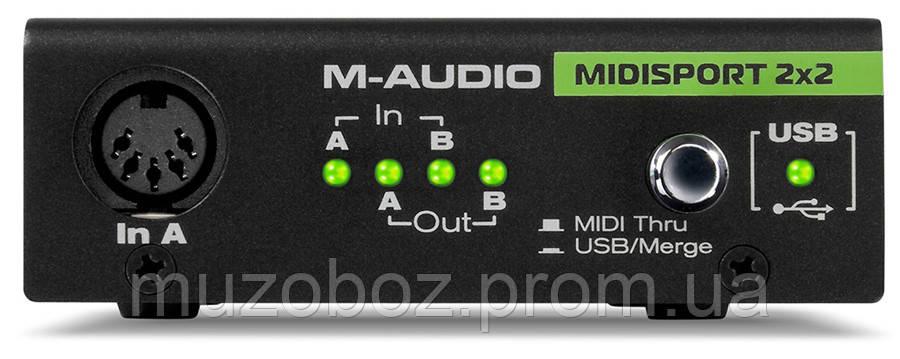 Аудиоинтерфейс M-Audio MIDISPORT 2X2