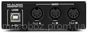 Аудиоинтерфейс M-Audio MIDISPORT 2X2, фото 2