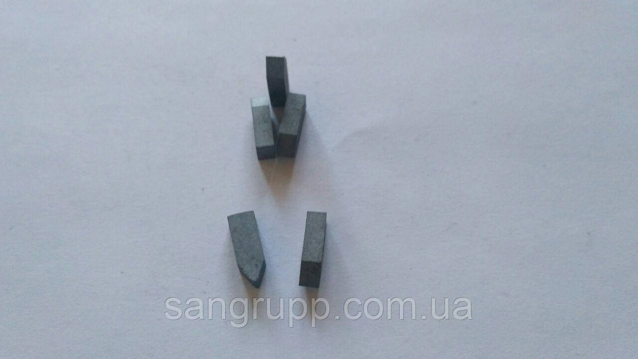 Пластина напайная 11190 ВК8, Т5К10, Т15К6