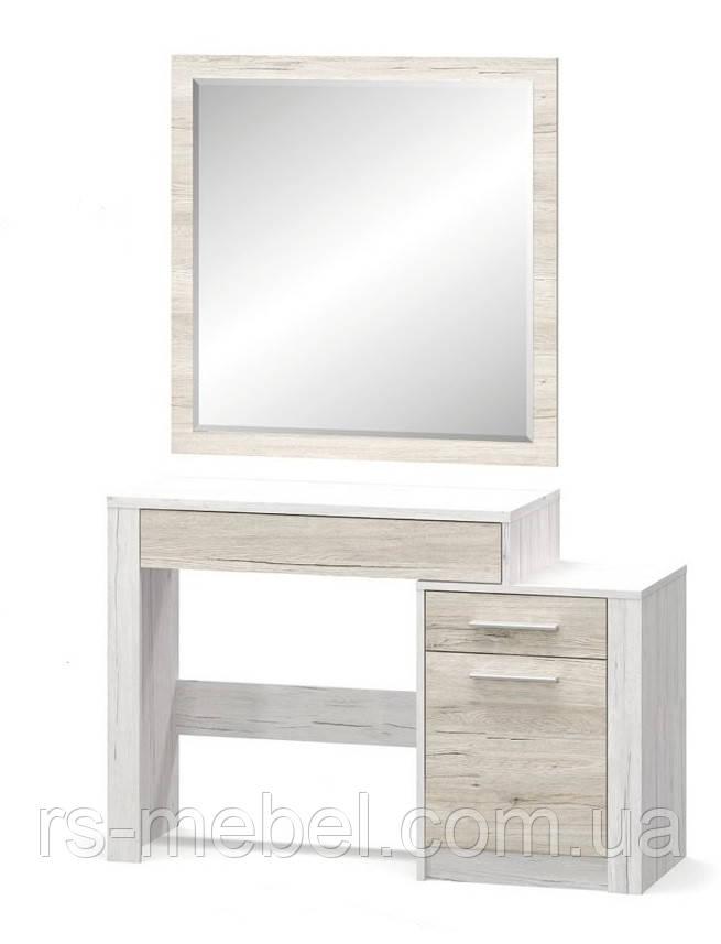 """Туалетний столик + дзеркало """"Кім"""", (Мебель-Сервіс)"""